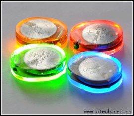LED鞋灯 潮流服饰闪光灯 LED七彩鞋灯 鞋帽灯
