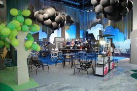 嘉兴铝箔氦气球飘空氦气球