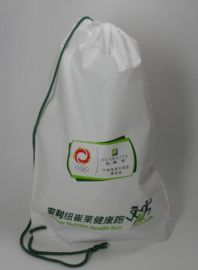 定制生产穿绳袋、穿绳背囊袋,束口袋,环保购物袋