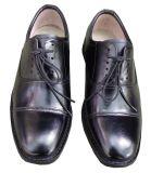 3515正品05三接头常服军皮鞋军鞋系带休闲鞋酒店保安工作鞋