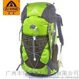 户外旅行背包男女双肩包户外用品徒步登山包防雨背包