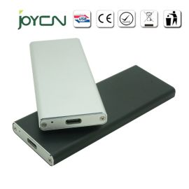 工厂直销 市场**款USB3.1铝合金Type-C移动硬盘盒