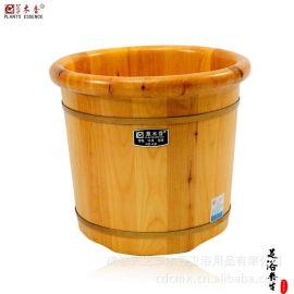 草木香精选足浴桶 ,木盆洗脚桶 ,极少木结木桶