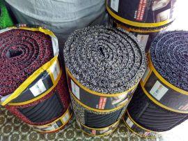 加厚丝圈脚垫 热熔PVC脚垫 喷丝可裁剪 带防滑底1.8CM厚 0.6M*3M
