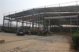 出口带行车梁钢结构车间 安全稳固通风效果好钢结构建筑