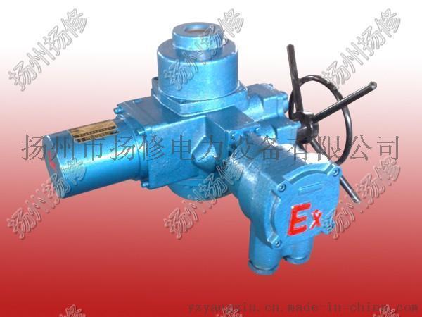 供应扬州扬修QB系列部分回转隔爆型电动执行机构