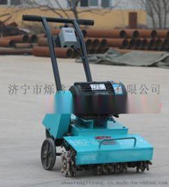清理落地的混凝土残渣、灰浆就用烁腾牌多功能清灰机,路面清渣机,泥浆灰清理机