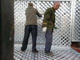 巡邏帶防攀爬刺圍欄網 梅花刺刺隔離網