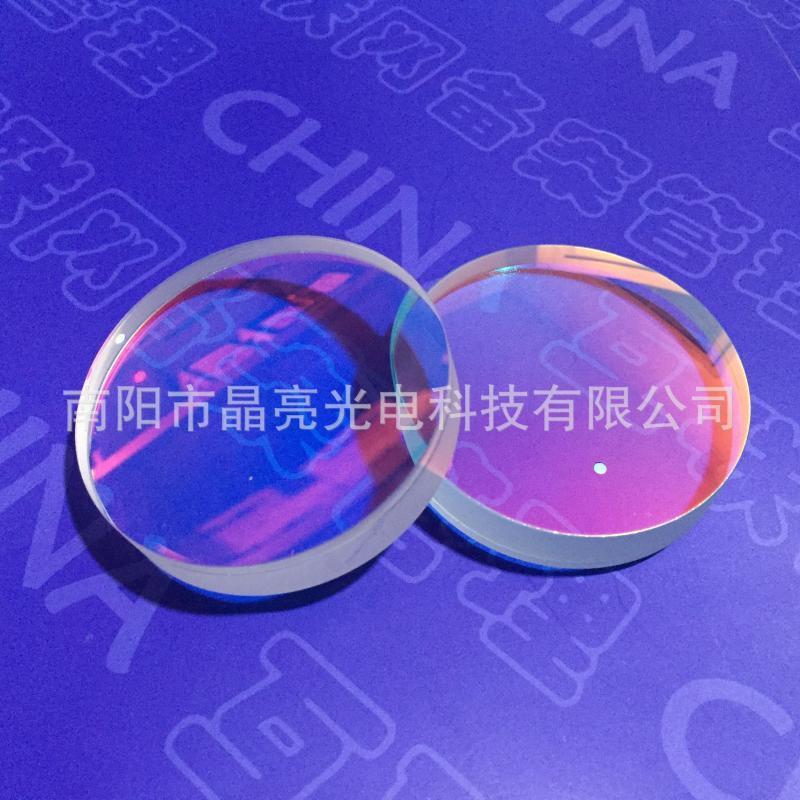 厂家供应光学胶合透镜镜片,来样来图加工定制各种光学玻璃镜片