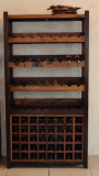 老船木傢俱船木酒櫃 酒窖櫃 紅酒櫃 展示櫃 裝飾櫃 酒架 廠家直銷