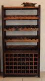 老船木家具船木酒櫃 酒窖櫃 紅酒櫃 展示櫃 裝飾櫃 酒架 廠家直銷