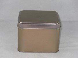 正方形铁罐,马口铁罐,金属罐 电子产品,
