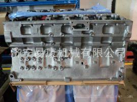 现代455-7挖掘机缸体 康明斯QSM11发动机