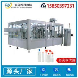 果汁饮料灌装机 全自动液体饮料生产填充线 啤 灌装机 厂家定制