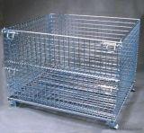 鸿晟达Q235优质钢线5.8仓储笼、蝴蝶笼、折叠铁笼