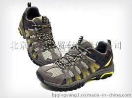 专业户外登山鞋 男款荧光绿