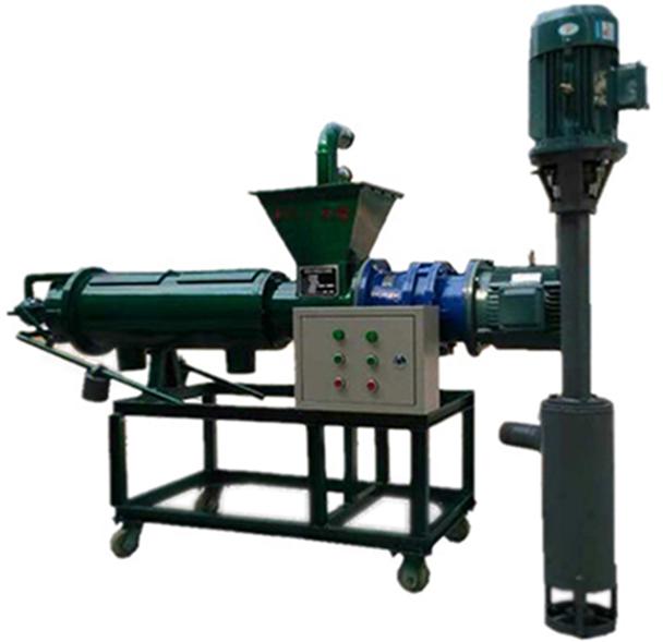 广西贺州 200加长型猪粪处理机粪便脱水机猪粪固液分离机