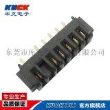 笔记本电池座连接器B03F母座B款3-10Pin 间距2.5PH 带柱
