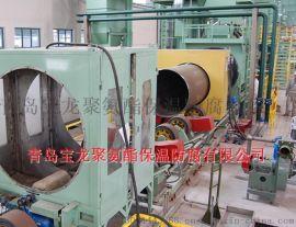 钢管抛丸机除锈机生产线