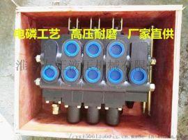 专业废品金属压块机金属打包机废铁压块机多路阀配件手动分配器