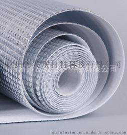 珍珠棉复合镀铝膜大方格纹路