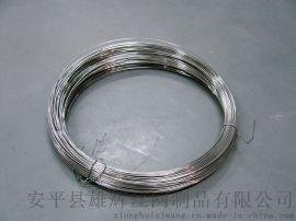 厂家直销201材质无磁无镍双无不锈钢丝