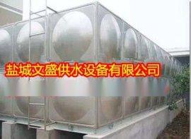 厂家直销不锈钢水箱、楼顶消防水箱、环保组装式储水箱