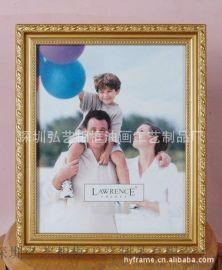 深圳相框廠定制小相框 PS相框/畫框 歐美古典 金、白色兩色可選