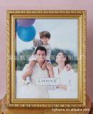 深圳相框廠定製小相框 PS相框/畫框 歐美古典 金、白色兩色可選