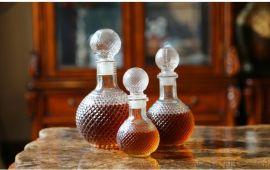 圆球玻璃瓶,密封储存酒瓶,存酒器地雷玻璃瓶