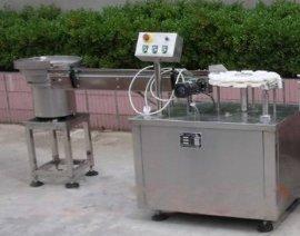 山东**口服液洗烘灌轧联动生产线,自动超声波清洗机