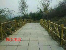 仿木栏杆仿木栏杆安装仿木栏杆设计