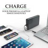 桌面式多功能超大容量筆記本移動電源 手機充電寶