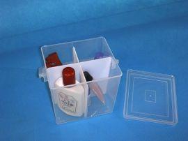四叶草4格横竖隔片可拆元件盒