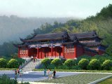 寺庙设计,大殿施工图,庙宇设计图纸