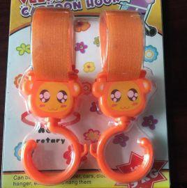 鴻益 魔術貼嬰兒推車掛鉤 正面掛勾 進口粘扣帶掛鉤制造 更加牢固 出口裝