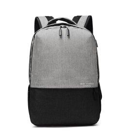 方振箱包专业定制男款牛津布双肩电脑背包 来图打样 可添加logo