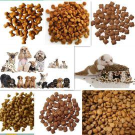 双螺杆宠物食品膨化机 狗粮生产设备 狗粮膨化机
