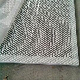 廠家直銷定制款平面噴粉鋁合金邊框鋁板網