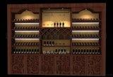 深圳紅酒店面裝修設計,紅酒展櫃訂做,深圳紅酒展示櫃