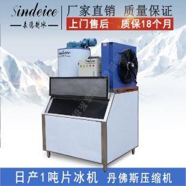 日产1吨商用片冰机小型制冰机 生鲜超市保鲜片冰机