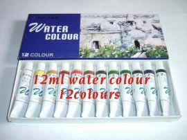 12色12ML水彩颜料