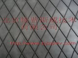 滚筒包胶菱形耐磨橡胶板(带半 化层)