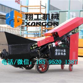 细石混凝土输送泵楼层用二次结构专用泵