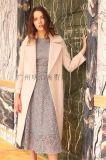 新款优质高端双面昵大衣品牌女装折扣哪里进货找广州明浩