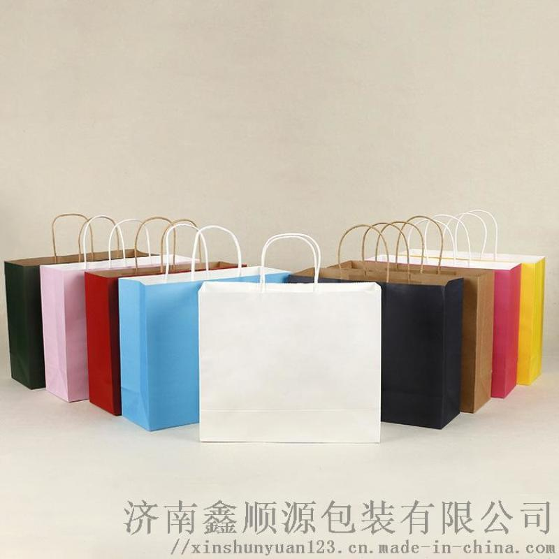 方底牛皮纸袋 手提纸袋 方底纸袋厂家定制