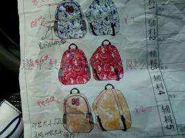 学生手提袋批发,韩版背包定制,时尚书包加工厂