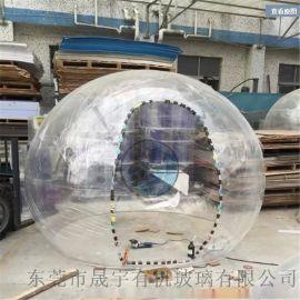 压克力球,透明玻璃圆球,超大亚克力球屋