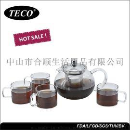 合顺高硼玻璃茶具套餐