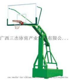 柳州篮球架,柳州篮球架供应【广西三杰体育】
